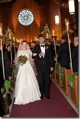 Zack Bogue Marissa Mayer wedding photo