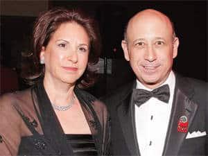 Laura Blankfein- Goldman Sachs CEO Lloyd Blankfein's Wife