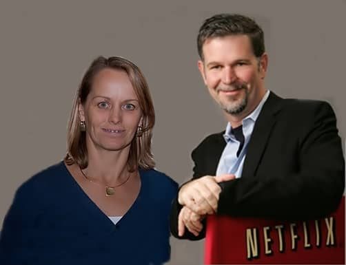 Do you know who is the beautiful woman married to Netflix' CEO Reed Hastings? Here at WAGCenter we sure know that Mrs. Hastings is also known as Patty Quillin. or Patty Quillin Hastings if you prefer. Let's meet her!! #netflx #reedhastings #pattyhastings #pattyquillin @wagcenter