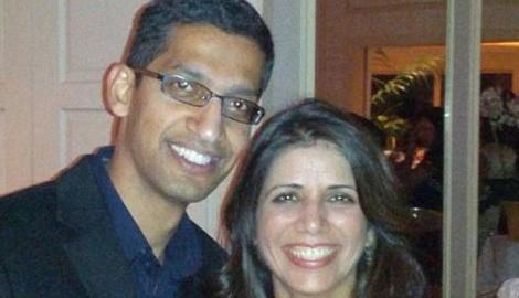 Google's CEO Sundar Pichai's Wife Anjali Pichai