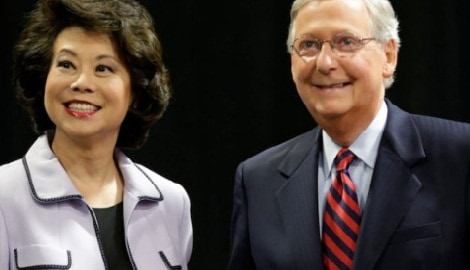 Mitch McConnell's Wife Elaine Chao