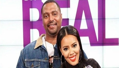 Angela Simmons' baby-daddy Sutton Tennyson