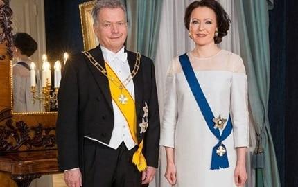 Sauli Niinistö's Wife Jenni Haukio