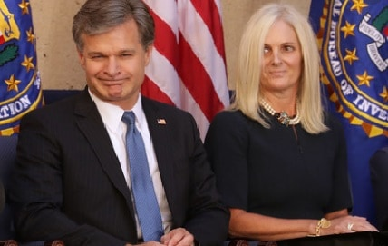 Helen Wray 5 facts About Chris Wray's Wife